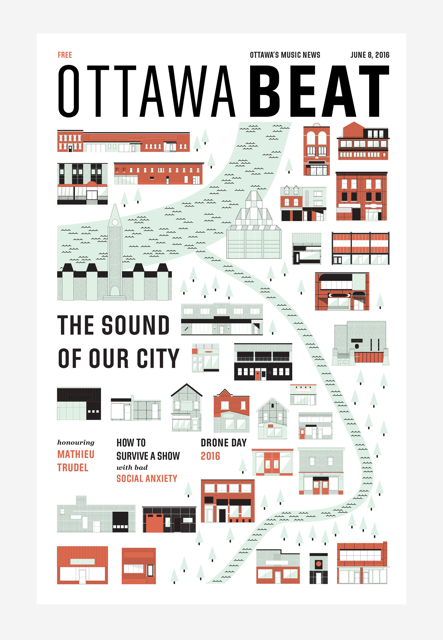 ottawa beat first issue cover robin richardson-dupuis